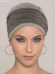 Cotton Turban with Headband Accessory